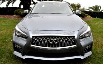 2014 INFINITI Q50S AWD Hybrid -- 1080p HD Road Test Videos & 50 Photos -- AAA+ Refinement and Truly Authentic Steering -- An Excellent BMW 535i Competitor 19