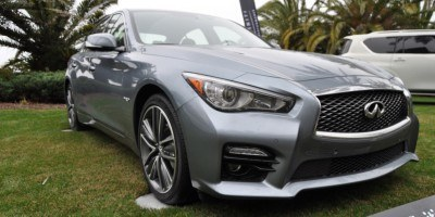 2014 INFINITI Q50S AWD Hybrid -- 1080p HD Road Test Videos & 50 Photos -- AAA+ Refinement and Truly Authentic Steering -- An Excellent BMW 535i Competitor 22