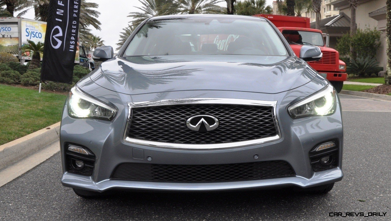 2014 INFINITI Q50S AWD Hybrid -- 1080p HD Road Test Videos & 50 Photos -- AAA+ Refinement and Truly Authentic Steering -- An Excellent BMW 535i Competitor 23