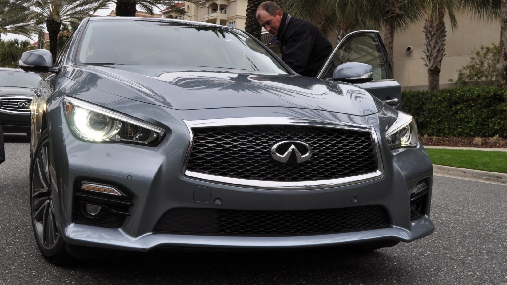INFINITI Q50 Upping Pressure on BMW With Aggressive New ...