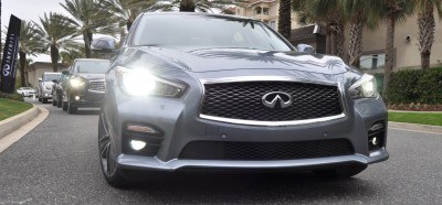 2014 INFINITI Q50S AWD Hybrid -- 1080p HD Road Test Videos & 50 Photos -- AAA+ Refinement and Truly Authentic Steering -- An Excellent BMW 535i Competitor 37