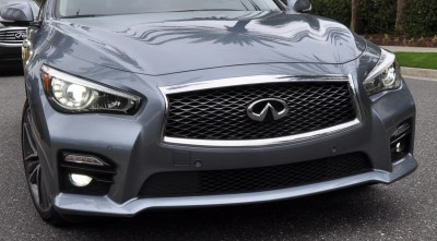 2014 INFINITI Q50S AWD Hybrid -- 1080p HD Road Test Videos & 50 Photos -- AAA+ Refinement and Truly Authentic Steering -- An Excellent BMW 535i Competitor 39