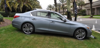 2014 INFINITI Q50S AWD Hybrid -- 1080p HD Road Test Videos & 50 Photos -- AAA+ Refinement and Truly Authentic Steering -- An Excellent BMW 535i Competitor 4