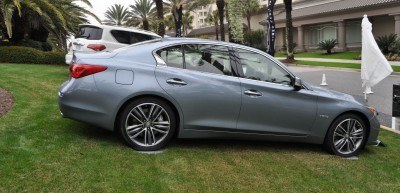 2014 INFINITI Q50S AWD Hybrid -- 1080p HD Road Test Videos & 50 Photos -- AAA+ Refinement and Truly Authentic Steering -- An Excellent BMW 535i Competitor 5