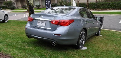 2014 INFINITI Q50S AWD Hybrid -- 1080p HD Road Test Videos & 50 Photos -- AAA+ Refinement and Truly Authentic Steering -- An Excellent BMW 535i Competitor 7