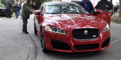 2014 JAGUAR XFR -- Driving Review with Full-Throttle Rolling Sprint + Exhaust Bellow 1