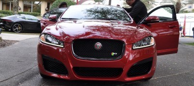 2014 JAGUAR XFR -- Driving Review with Full-Throttle Rolling Sprint + Exhaust Bellow 4