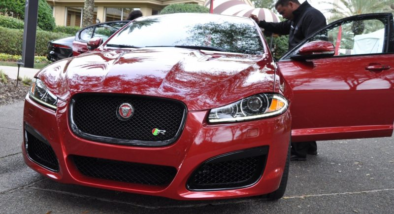 2014 JAGUAR XFR -- Driving Review with Full-Throttle Rolling Sprint + Exhaust Bellow 5