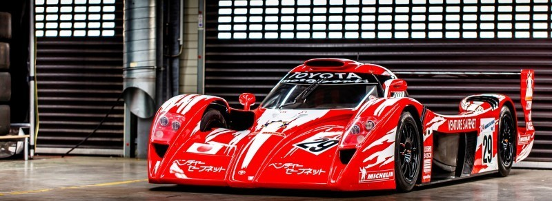 2014 LeMans LMP1 -- Toyota TS040 Hybrid -- A Dark Stallion in Audi vs. Porsche Battle -- Plus TS010 and TS020 Reunion 19