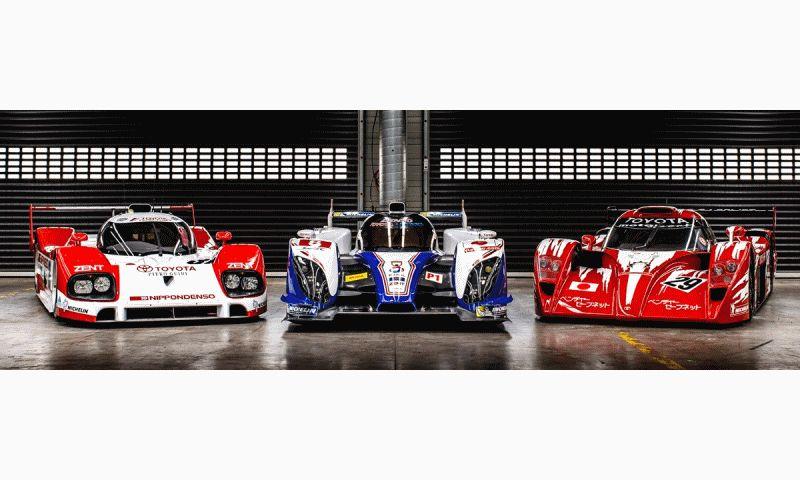 2014 LeMans LMP1 -- Toyota TS040 Hybrid HEADER gif1