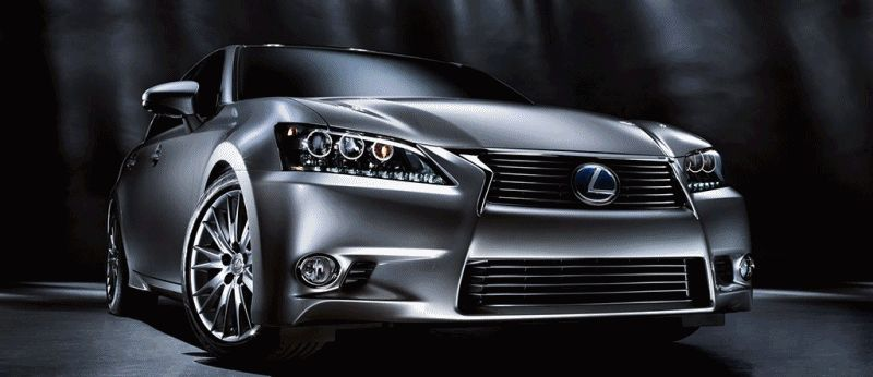 2014 Lexus GS Hybrid and GS350 - Animated GIF