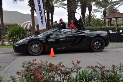 2014 McLaren 12C Spider Is Mobbed in Amelia Island! Failed Drop-top Animations 11