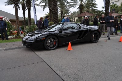 2014 McLaren 12C Spider Is Mobbed in Amelia Island! Failed Drop-top Animations 16