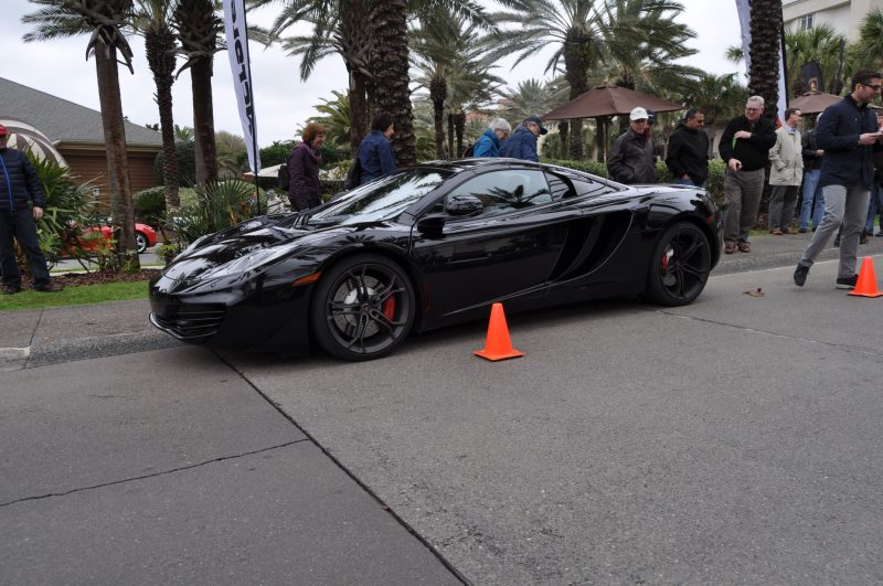 2014 McLaren 12C Spider Is Mobbed in Amelia Island! Failed Drop-top Animations 18