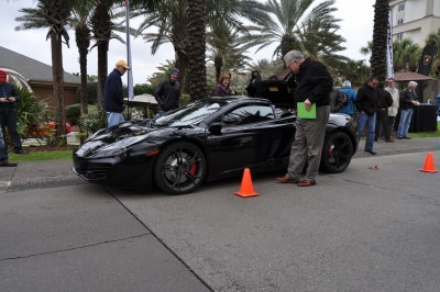 2014 McLaren 12C Spider Is Mobbed in Amelia Island! Failed Drop-top Animations 23