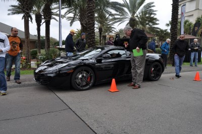 2014 McLaren 12C Spider Is Mobbed in Amelia Island! Failed Drop-top Animations 24