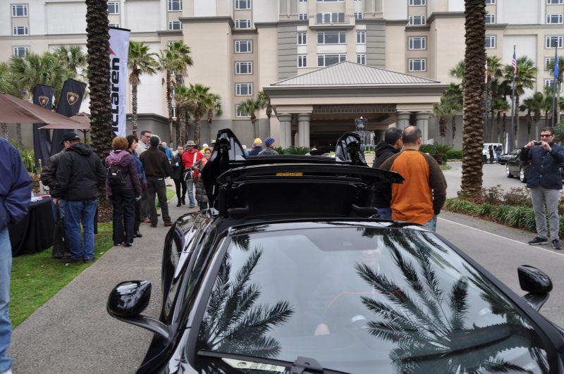 2014 McLaren 12C Spider Is Mobbed in Amelia Island! Failed Drop-top Animations 27