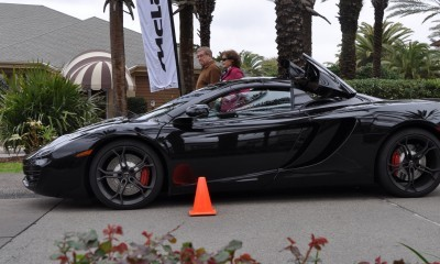 2014 McLaren 12C Spider Is Mobbed in Amelia Island! Failed Drop-top Animations 3