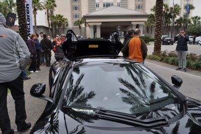 2014 McLaren 12C Spider Is Mobbed in Amelia Island! Failed Drop-top Animations 32