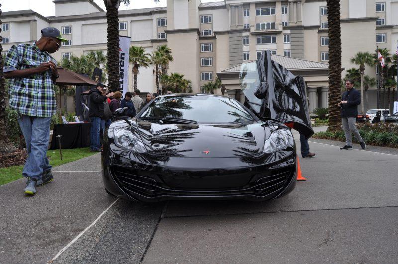 2014 McLaren 12C Spider Is Mobbed in Amelia Island! Failed Drop-top Animations 36