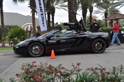 2014 McLaren 12C Spider Is Mobbed in Amelia Island! Failed Drop-top Animations 9