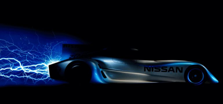 2014 NISSAN ZEOD RC Animated GIF -=- white lightning header graphic