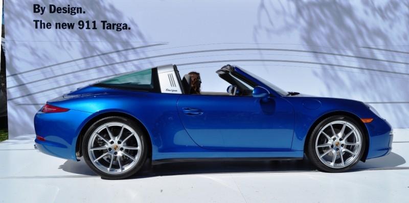 2014 Porsche 911 Targa4 -- Animated Roof Sequence + 30 High-Res Photos 14
