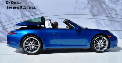 2014 Porsche 911 Targa4 -- Animated Roof Sequence + 30 High-Res Photos 15