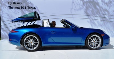 2014 Porsche 911 Targa4 -- Animated Roof Sequence + 30 High-Res Photos 16