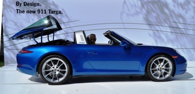 2014 Porsche 911 Targa4 -- Animated Roof Sequence + 30 High-Res Photos 17