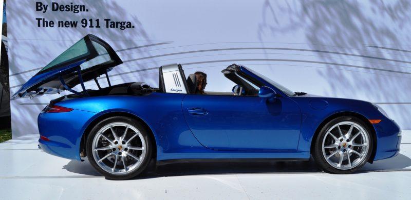 2014 Porsche 911 Targa4 -- Animated Roof Sequence + 30 High-Res Photos 18