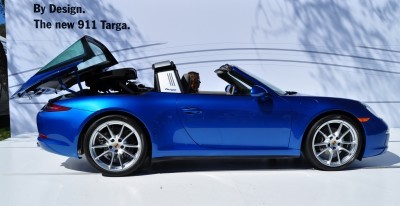2014 Porsche 911 Targa4 -- Animated Roof Sequence + 30 High-Res Photos 19