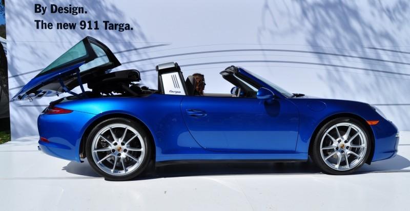 2014 Porsche 911 Targa4 -- Animated Roof Sequence + 30 High-Res Photos 19