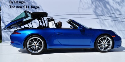 2014 Porsche 911 Targa4 -- Animated Roof Sequence + 30 High-Res Photos 20