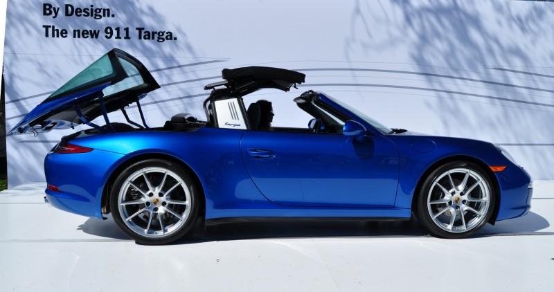 2014 Porsche 911 Targa4 -- Animated Roof Sequence + 30 High-Res Photos 22