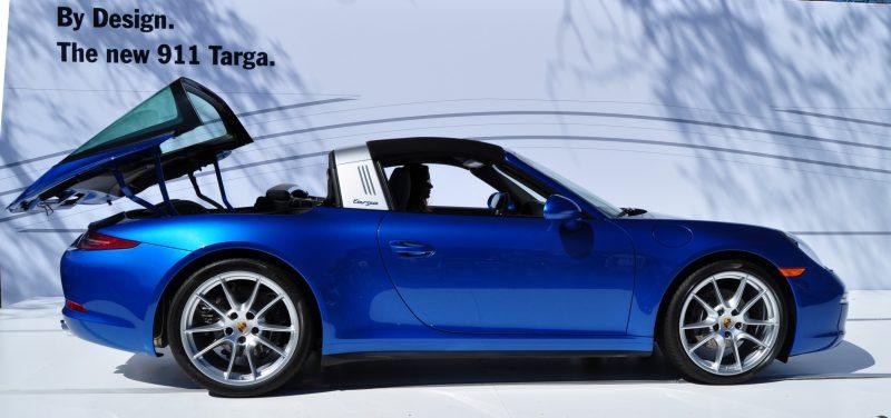 2014 Porsche 911 Targa4 -- Animated Roof Sequence + 30 High-Res Photos 23