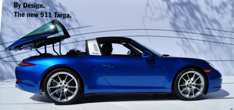 2014 Porsche 911 Targa4 -- Animated Roof Sequence + 30 High-Res Photos 24