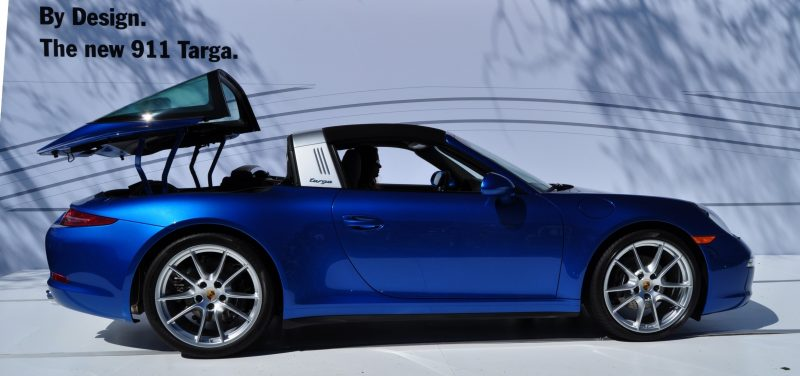 2014 Porsche 911 Targa4 -- Animated Roof Sequence + 30 High-Res Photos 25