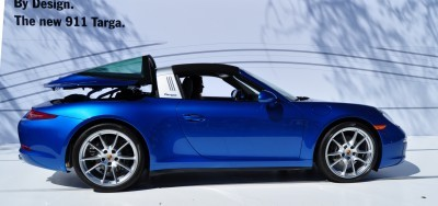 2014 Porsche 911 Targa4 -- Animated Roof Sequence + 30 High-Res Photos 26