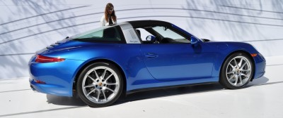 2014 Porsche 911 Targa4 -- Animated Roof Sequence + 30 High-Res Photos 4