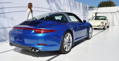 2014 Porsche 911 Targa4 -- Animated Roof Sequence + 30 High-Res Photos 5