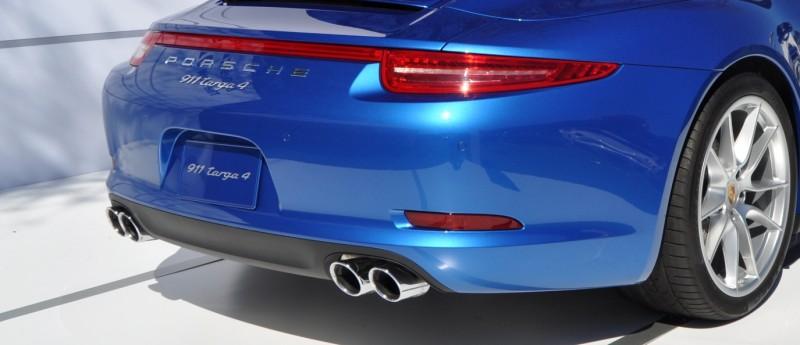 2014 Porsche 911 Targa4 -- Animated Roof Sequence + 30 High-Res Photos 6