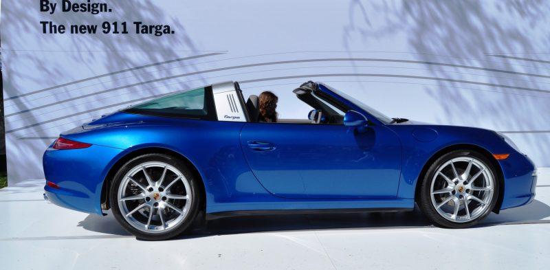 2014 Porsche 911 Targa4 -- Animated Roof Sequence + 30 High-Res Photos 9