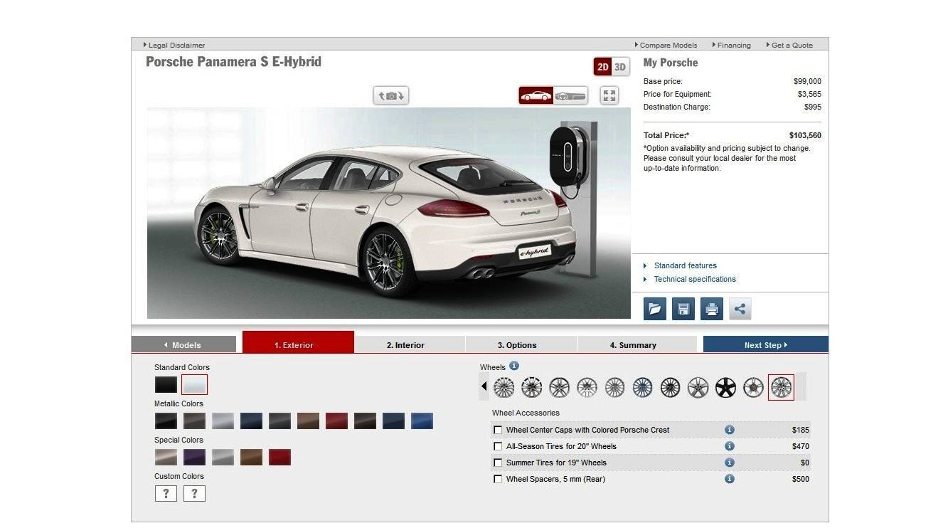 2014 Porsche Panamera S E-Hybrid -- 30 Real-Life Photos -- Live Configurator Link + 80 Images of Options, All Colors and All Wheels 18