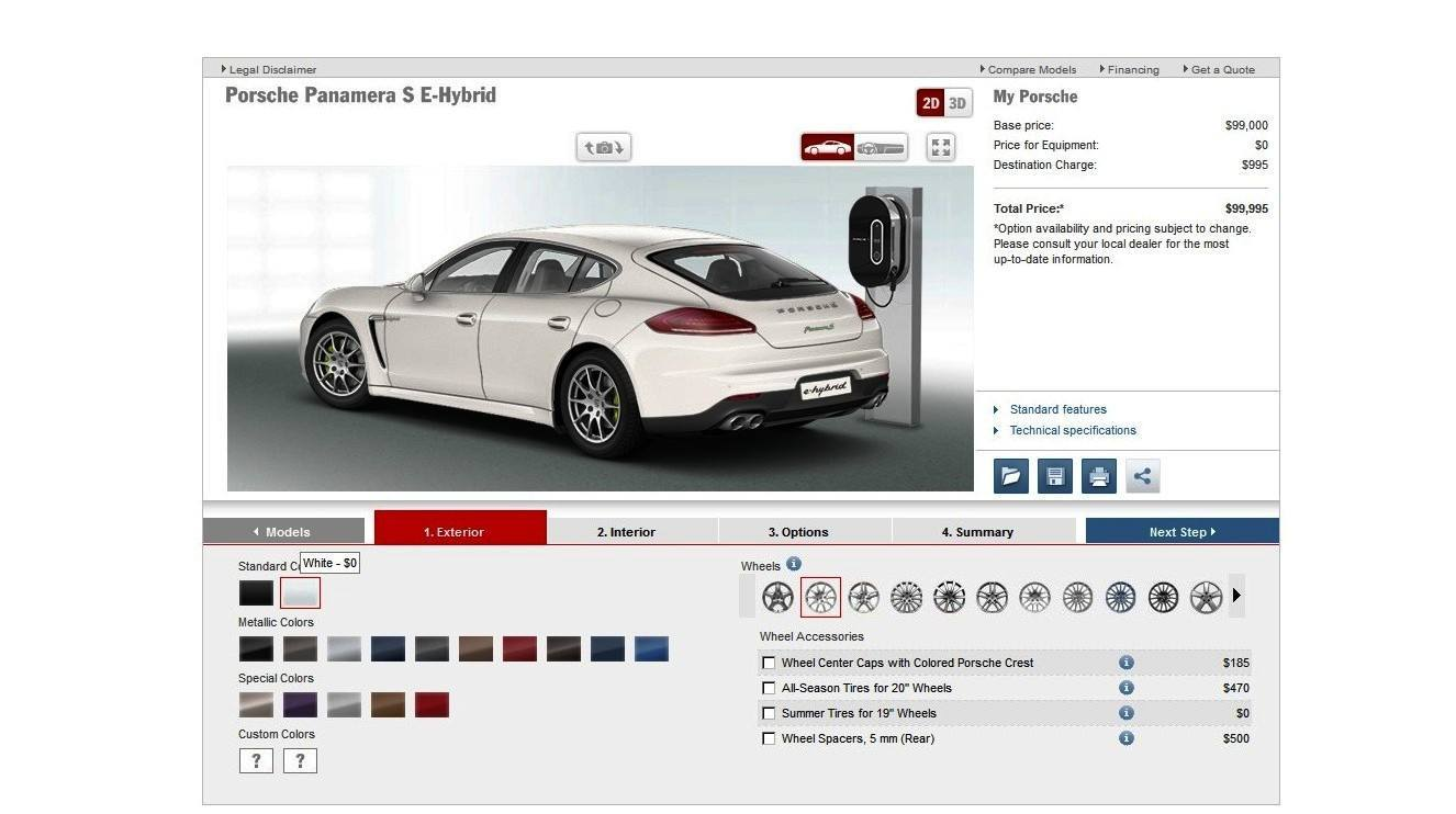 2014 Porsche Panamera S E-Hybrid -- 30 Real-Life Photos -- Live Configurator Link + 80 Images of Options, All Colors and All Wheels 4