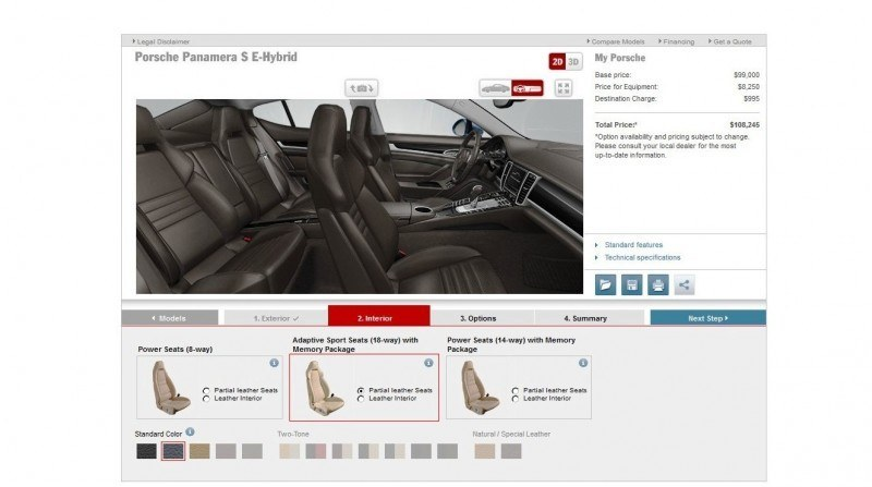 2014 Porsche Panamera S E-Hybrid -- 30 Real-Life Photos -- Live Configurator Link + 80 Images of Options, All Colors and All Wheels 40