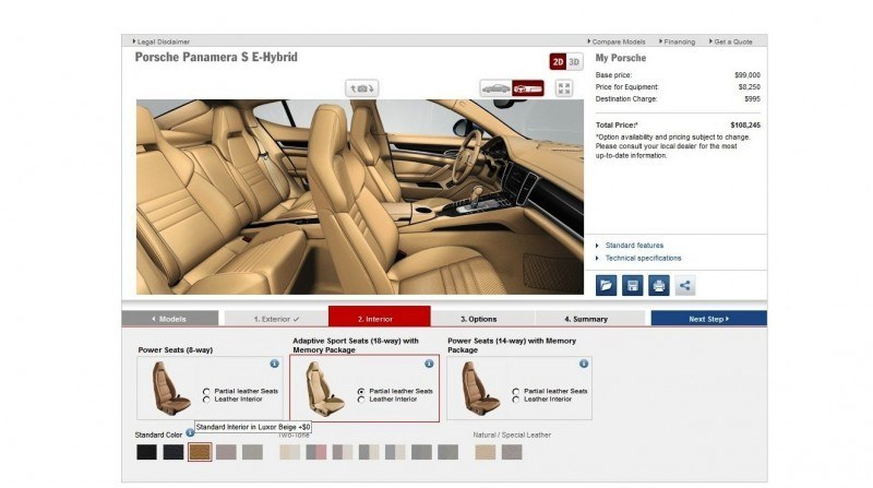 2014 Porsche Panamera S E-Hybrid -- 30 Real-Life Photos -- Live Configurator Link + 80 Images of Options, All Colors and All Wheels 41
