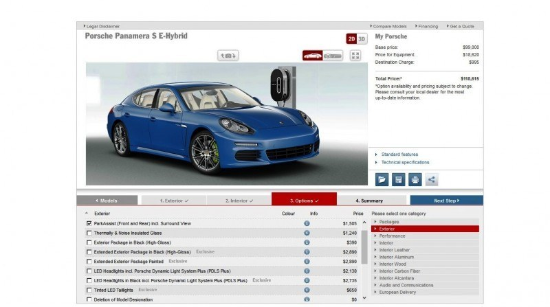 2014 Porsche Panamera S E-Hybrid -- 30 Real-Life Photos -- Live Configurator Link + 80 Images of Options, All Colors and All Wheels 59