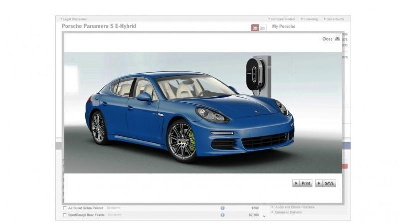 2014 Porsche Panamera S E-Hybrid -- 30 Real-Life Photos -- Live Configurator Link + 80 Images of Options, All Colors and All Wheels 62