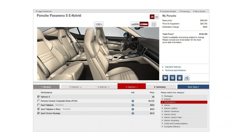 2014 Porsche Panamera S E-Hybrid -- 30 Real-Life Photos -- Live Configurator Link + 80 Images of Options, All Colors and All Wheels 65